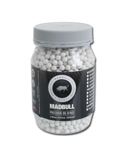 Kuglice BB MADBULL 0,36g bijele boje