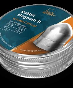 H&N RABBIT MAGNUM II 4,5MM vrlo je težak projektil namijenjen za veće udaljenosti.