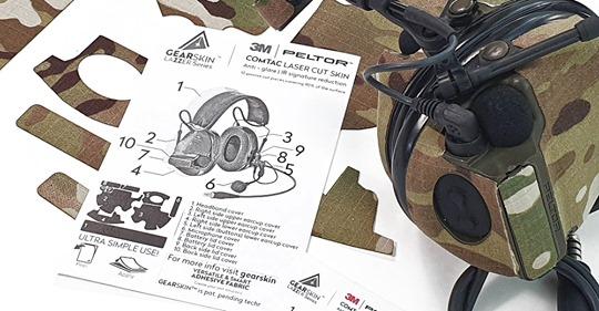 gearskin gearup shop lasercut peltor